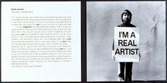 Keith Arnatt, Trouser - Word Piece, 1972-89