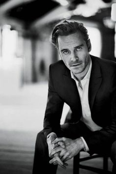 Michael Fassbender. Not only is he very handsome, but he has a very nice voice. *swoon*