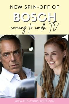 TV SERIES. Spin off of Bosch is Coming to IMDB TV