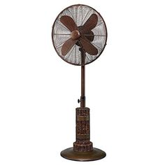 Indoor and Outdoor 18 Standing Pedestal Fan  Beautiful Style Keeps You Cool All Year Round Aspen >>> Check out the image by visiting the link.