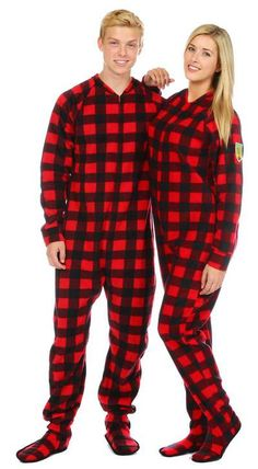 Footed Pajamas For Adults Canada | Family Clothes
