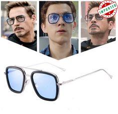 Iron Man Edith Glasses Cosplay Tony Polarized Color-changing Sunglasses Fashion