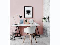Pink Wall Desk