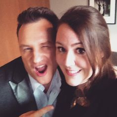 Selfie-Time: Redakteurin Elke von BUNTE.de mit Guido Maria Kretschmer