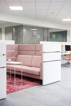 Pink, Scandinavia, Inspiration, Furnitures, Sofa, Scandinavia, White, Office