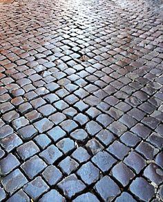Se potessero parlare i Sampietrini #TRAST #Roma Construction Group, Pavement, Main Street, Palm Springs, Primitive, Louvre, Floor, Spaces, Texture