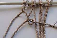 How to Make 6 Common Macrame Knots | Red Heart