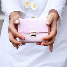Pale pink Wallet