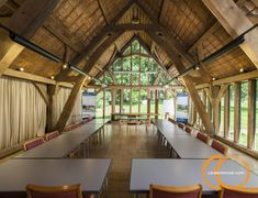 Looking for timber frame companies? Timber framed buildings by Carpenter Oak Ltd, experts in timber framed construction & timber frame commercial buildings. Carpenter, Buildings, Places To Visit, Public, Construction, Traditional, Wood, Frame, Inspiration