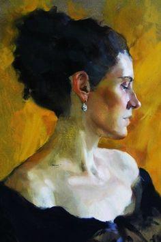 академическая живопись. портрет. масло