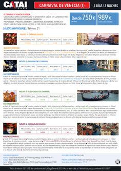 Carnaval de VENECIA I: sal indiv 27feb, 4d/3n desde 750€ (sin tasas) ó 989€ (vuelo y tasas) - http://zocotours.com/carnaval-de-venecia-i-sal-indiv-27feb-4d3n-desde-750e-sin-tasas-o-989e-vuelo-y-tasas-2/