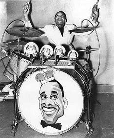 Chick Webb - amazing drummer, bandleader, discoverer of Ella Fizgerald, and undisputed king of Harlem's famous Savoy Ballroom