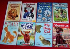 8 Dog Chapter Books 4th 5th 6th Grade Summer Readers