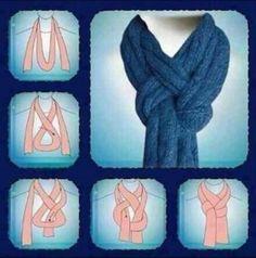 scarf tutorial...