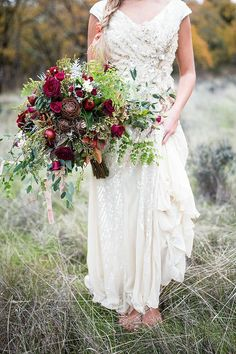 Having an outdoor Oregon wedding with a casual flair?  We know you spend lots of time deciding on your shoes, but take a bridal photo or two barefoot in the grass!