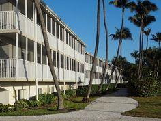 アメリカ・フロリダ州サニベル島にあるホテル「サンセットビーチイン」にて。Sunset Beach Inn, Sanibel Island in Florida, USA.
