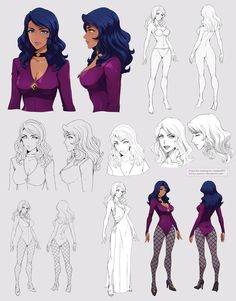 Zora - character sheet by Precia-T on DeviantArt Female Character Concept, Character Model Sheet, Character Sketches, Character Design Animation, Fantasy Character Design, Character Modeling, Character Design References, Character Drawing, Character Inspiration