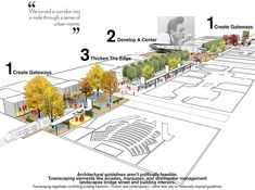 2014 ASLA 规划类荣誉奖 : The Creative Corridor: A Main Street Revitalization for Little Rock - 谷德设计网