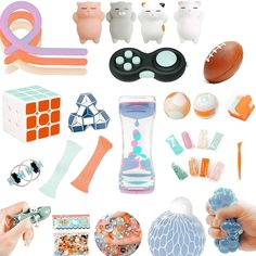 Homemade Fidget Toys, Cool Fidget Toys, Figet Toys, Diy Toys, Slime And Squishy, Chelsea Doll, Stress Toys, Paper Crafts, Diy Crafts