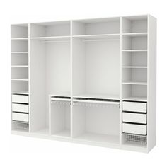 closet layout 443675000789613458 - IKEA PAX Armoire-penderie Source by Ikea Pax Wardrobe, Wardrobe Design Bedroom, Ikea Closet, Diy Wardrobe, Master Bedroom Closet, Bedroom Wardrobe, White Wardrobe, Wardrobe Ideas, Wardrobe Storage