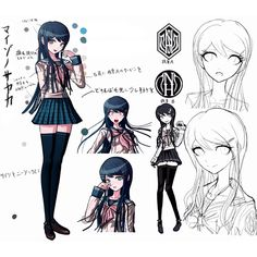 Danganronpa: Trigger Happy Havoc Concept Art