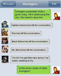 Hawkeye: I hope so. Either way let's do it.  Iron man: *sighs deeply and face palms himself*
