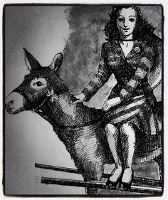 #mexican #sweetheart on a #donkey #shading With #ink #scketchbook #metatropolis by #edvardadesign
