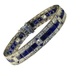 Van Cleef & Arpels - Brazalete zafiros y diamantes
