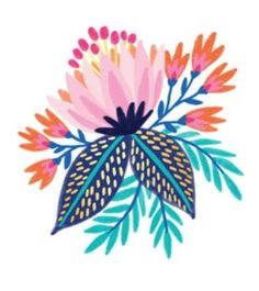 Ideas For Floral Art Prints Illustration Tattoos Art Floral, Motif Floral, Floral Prints, Art Prints, Art And Illustration, Floral Illustrations, Flower Pattern Design, Flower Patterns, Posca Art