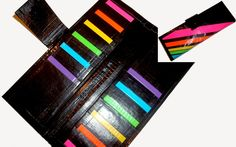 "Duct Tape Women's Wallet ""Rainbow"""