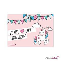 Viele Bunte Ideen Für Einen Einhorn Regenbogen Kindergeburtstag Mit  Kostenlosen Druckvorlagen Für Einladung Und Deko | Kreatives ❍ DIY |  Pinterest ...