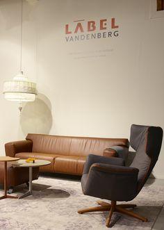 firstclass modern armchair. Relax chair First Class  Label design by Gerard van den Berg sofa Santiago in leather