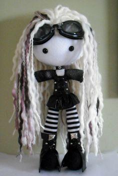 Michiko by on DeviantArt Amigurumi Doll, Plush Dolls, Doll Toys, Ugly Dolls, Creepy Dolls, Chica Punk, Gothic Dolls, Monster Dolls, Voodoo Dolls