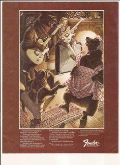 Goldilocks Fender Telecaster Stratocaster Precision Bass