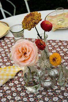 Wedding Graduate: A Backyard Wedding « A Practical Wedding: Ideas for Unique, DIY, and Budget Wedding Planning