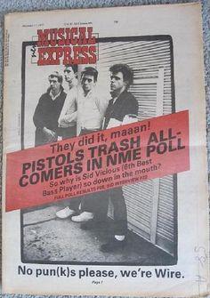 Puunk Store - Original Punk Rock Music Memorabilia - Sex Pistols - Punk Flyers & Posters