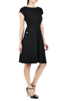 Black cocktail dress size 0 height