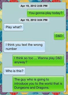 I think you text the wrong number…