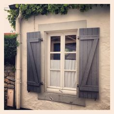 French Shutters - need these on the bad weather side of the Boathouse.