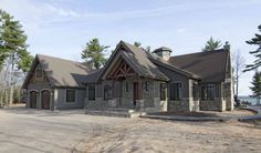 Exterior Design Gallery | Normerica Authentic Timber Frame
