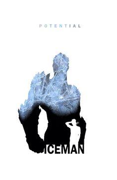 Potential - Iceman by Steve Garcia