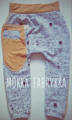 Scary baggy pants by Mokka Fabrykka - find it on fb