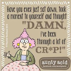#AuntyAcid have you ever