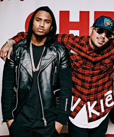 Trey Songz & Chris Brown!! Cant wait to see them in Feb in the Chi!!! #betweenthesheetstour