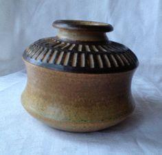 Soholm Denmark Stoneware vase by Emeliemaccie on Etsy, $60.00