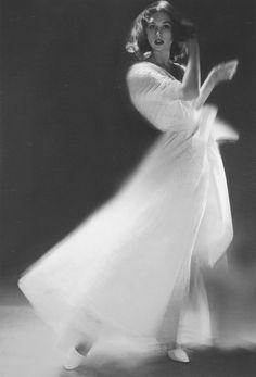 Photographer Lillian Bassman, June 1955 // Flickr