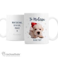 Personalised Christmas Mug - Rachael Hale Terrier Dog Personalized Christmas Mugs, Terrier Dogs, Merry Christmas, Pets, Animals, Merry Little Christmas, Animals And Pets, Animales, Merry Christmas Love