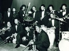 making it on their own! the JBs circa 1970. (that's bootsy collins with the bass and his late brother catfish on the guitar.) notice james brown nowhere to be seen... #bootsy #funk