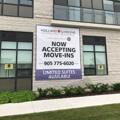 Holland Gardens Retirement Residence in Bradford is accepting new move-ins!  Limited suites available - Call today! 😊 #verve #moveins #community #residence #welcome Holland Garden, Wellness Activities, Emergency Response, Assisted Living, Senior Living, Bradford, Retirement, Gardens, Community