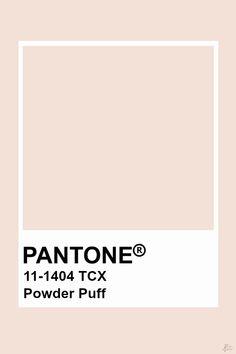 Pantone Powder Puff